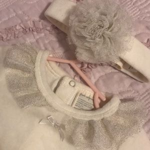 First Impressions girls body suit + hair bow